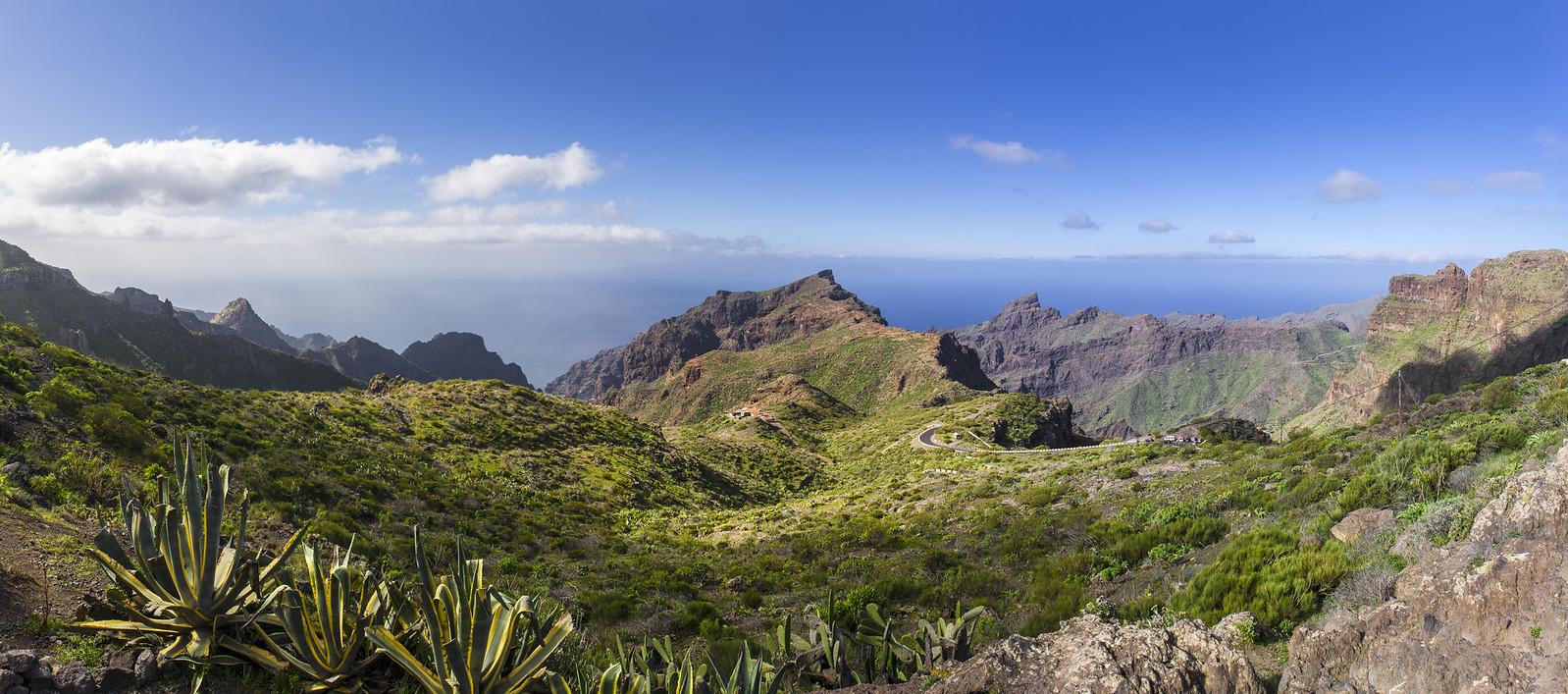 Panorama La Masca - Tenerife