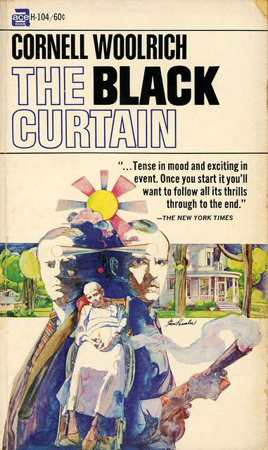 Ace Books H-104 - Cornell Woolrich - The Black Curtain
