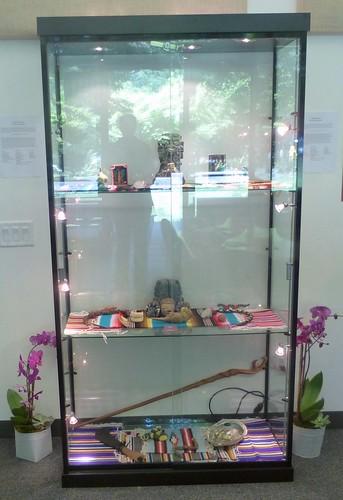 Special Exhibit of Anzaldúa Artifacts