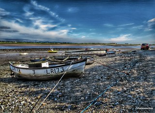Sunderland Point on the English West Coast