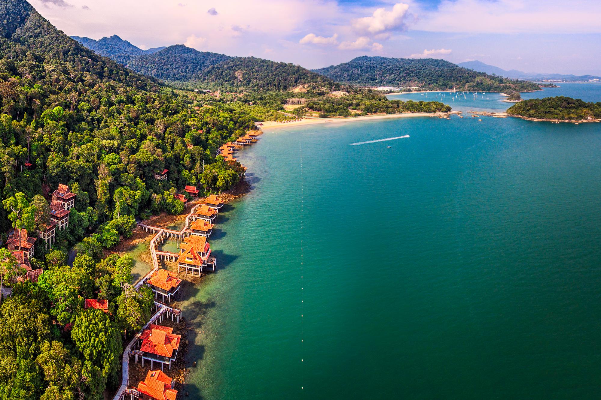 Elevation of Pantai Cenang, Langkawi, Kedah, Malaysia ...