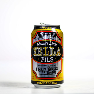 Pilsner Showdown Beers - Oskar Blues Brewery - Mama's Little Yella Pils | by fourbrewers