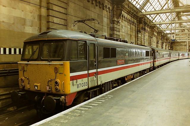 BRITISH RAIL 87033 THANE OF FIFE