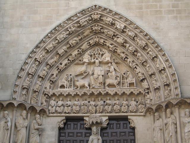 Catedral de Burgos. Puerta del Sarmental