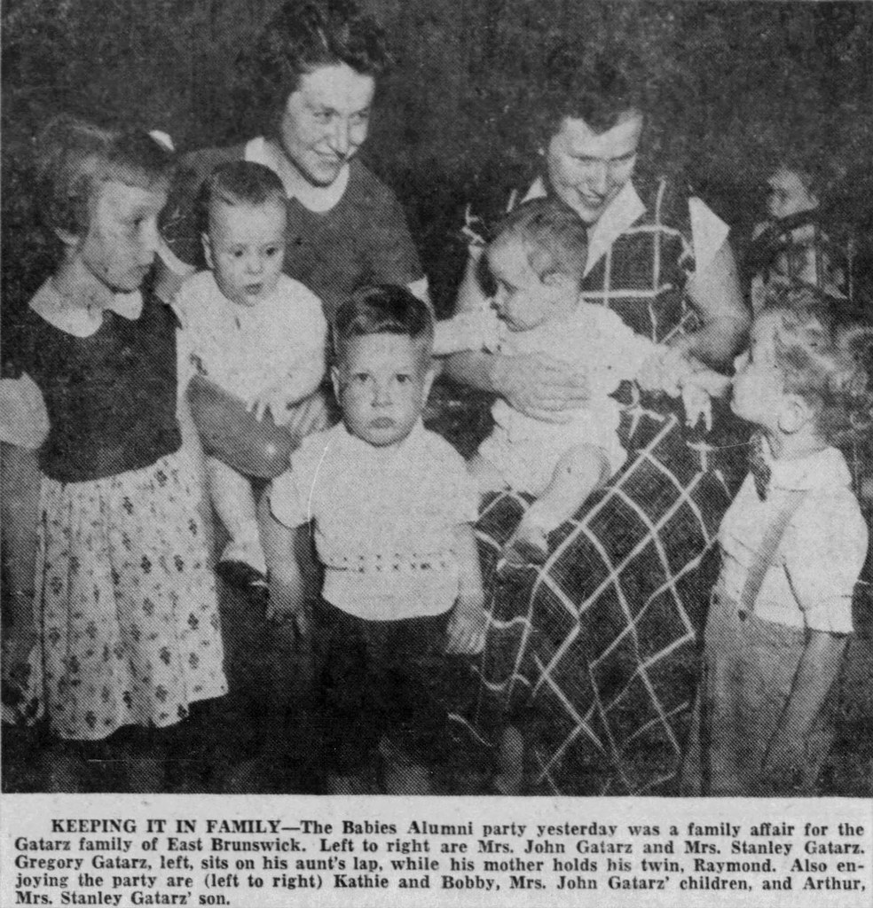 East Brunswick family party at St  Peter's, 1954 | Ethan