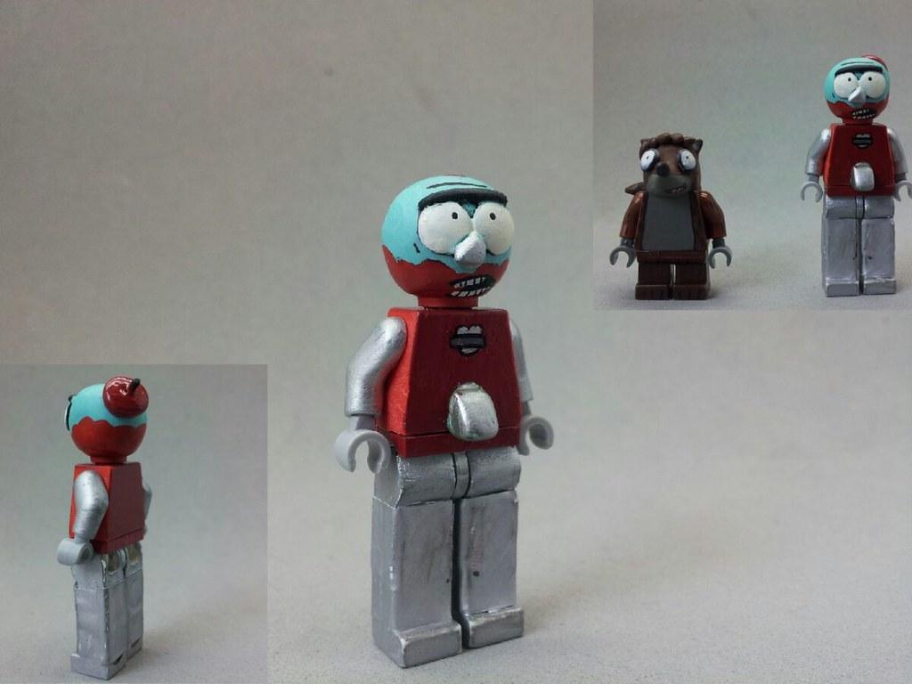 Lego Custom Regular Show Benson So I Havent Made A Regul Flickr