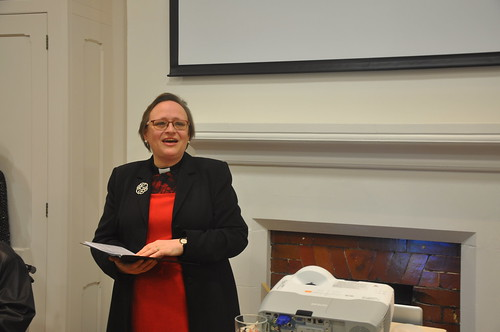 Lis Goddard, Vicar of St James the Less, Pimlico | by The National Churches Trust