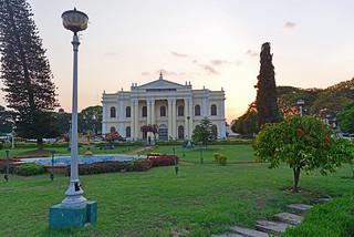 Rangacharlu Memorial Hall at sunset   by Chris Fynn