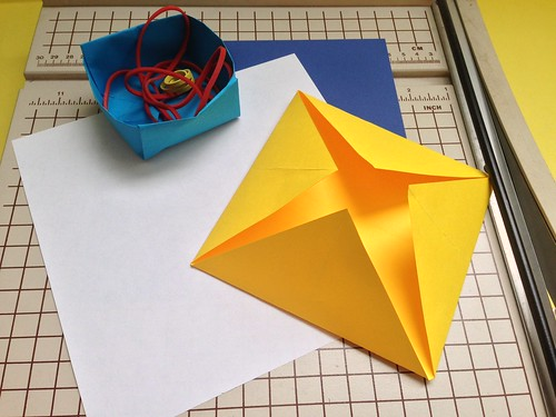 Family Workshop: Origami Paper Boxes, 6/7/15