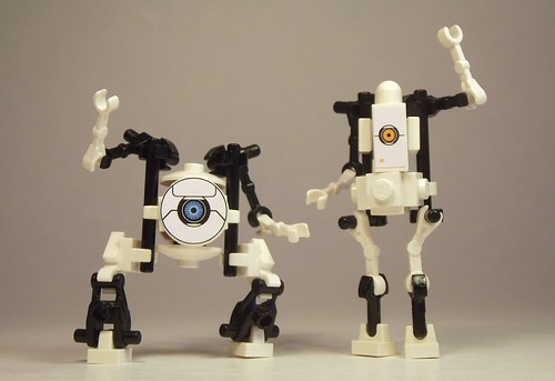 ATLAS and P-Body (Portal 2)