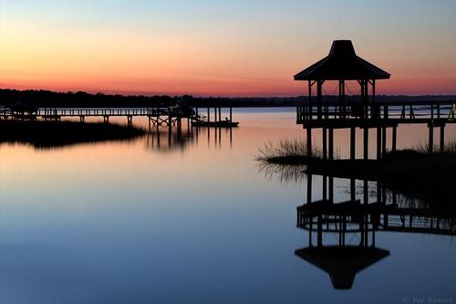 sunset silhouette reflections hiltonhead 52weeksthe2015edition week62015 weekstartingthursdayfebruary52015