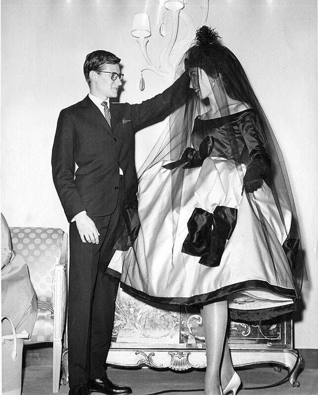 Young Fashion Designer Yves Saint Laurent At Age 22 For Th Flickr