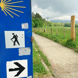 We started our Camino de Santiago in Roncesvalles, Spain | by anywhereism