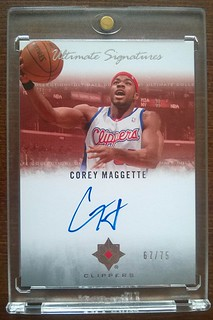 2007-08 Ultimate Collection Signatures #CM Corey Maggette /75 | by milkowski.pawel