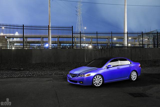 Acura TSX (Plasti-dipped)