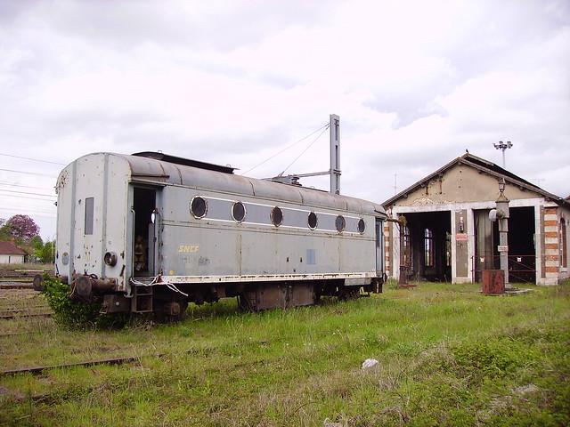 Fourgon-chaudière C 886 SNCF