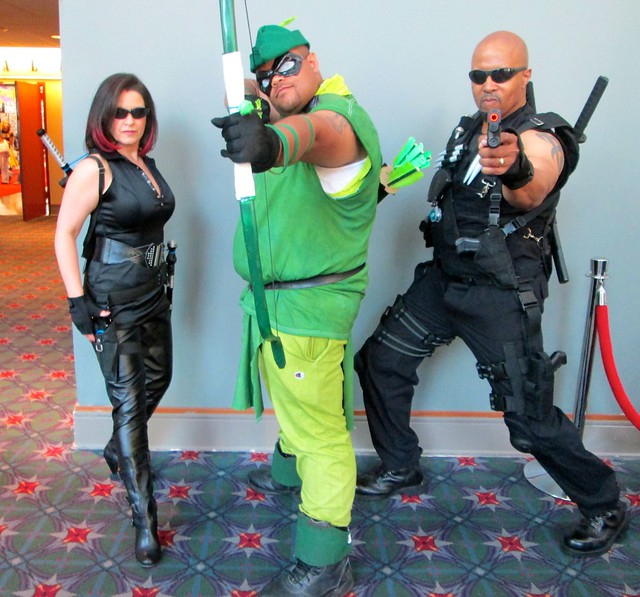 Green Arrow and Blade