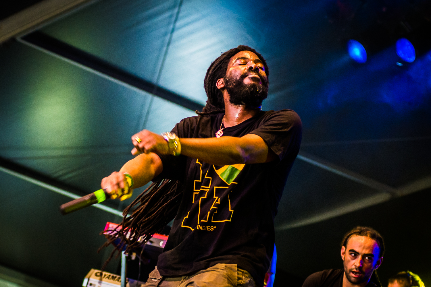 Omar Perry @ Afro-Latino Festival 2016 (© Timmy Haubrechts)