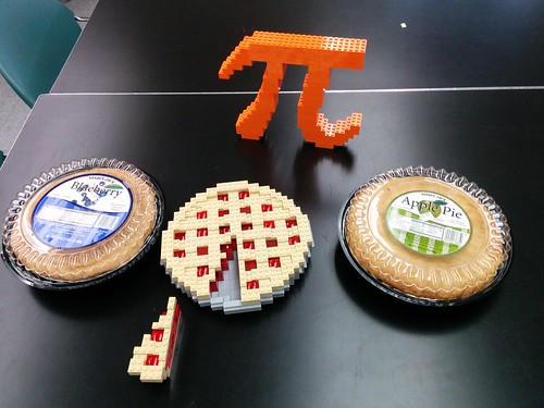 Pies Assembled for Pie Day | by Bill Ward's Brickpile