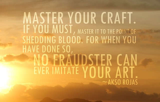 Akso Rojas Typoetry Master Craft