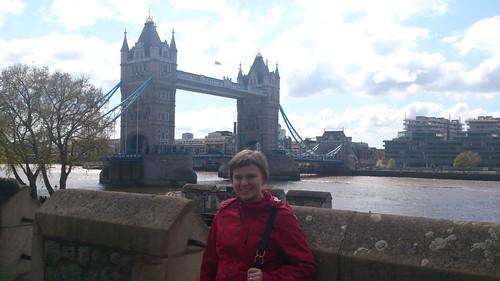 Jag och Tower Bridge