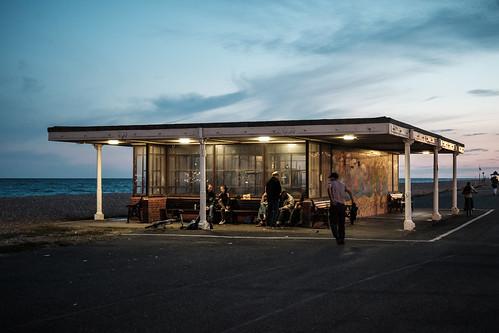 england uk south worthing marineparade sunset street beach coast streetphotography