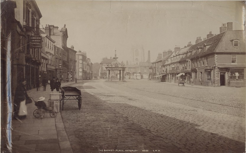 Saturday Market, Beverley 1881 (archive ref PH-4-5 a)