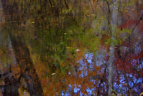 park autumn painterly reflection fall water river fallcolor pentax connecticut newengland ct k3 trumbull 2015 pequonnockriver vbd smcpentaxda55300mmf458ed oldminepark fall2015