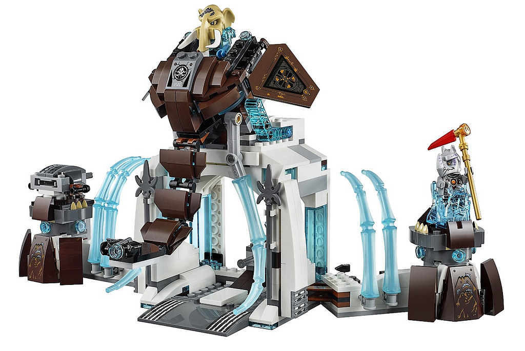 BRAND NEW LEGO 70226 LEGENDS OF CHIMA MAMMOTH/'S FROZEN STRONGHOLD