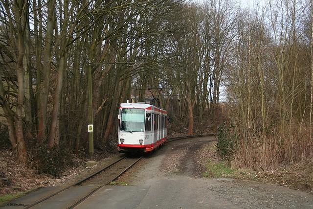 Bogestra TW 321, Linie 310, 7.3.2015