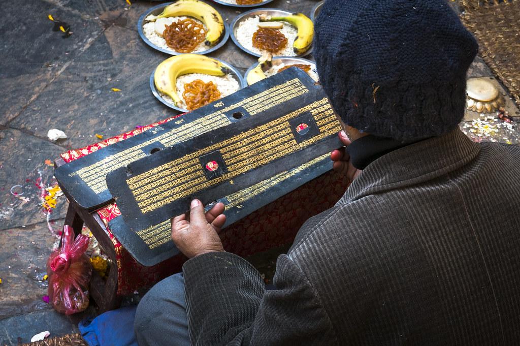 Reciting the Tibetan Mantras   Kathmandu , Nepal   fred min