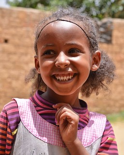 Girl in Mekele, Ethiopia   by Rod Waddington