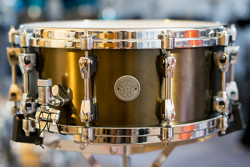 Tama Starphonic Bell Brass Snare Drum 14X6 | by sfmill13