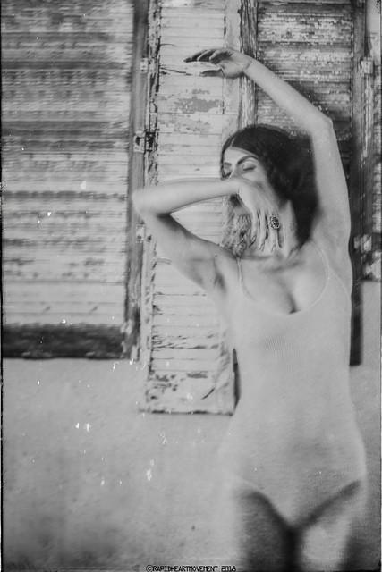 CRISIS: a 52 Week Self-portrait Project│ Self-portrait With Shutters  (3/52)