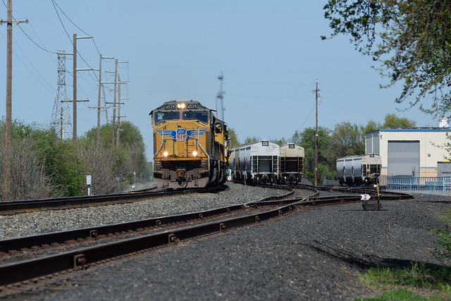 Work Train at South Chico