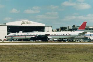 (OB-1452) DC-8 @ Miami 13-03-1996