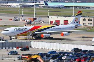 OO-ABA Airbus A340-300 Air Belgium | by Planes , ships and trains!