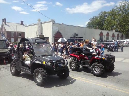 Alumni parade 2017   by Sullivan County ATV Club