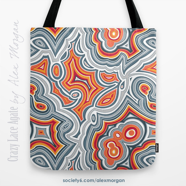 Agate Patterns on Society6