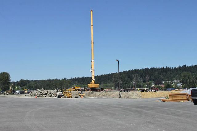 East Link OMF construction
