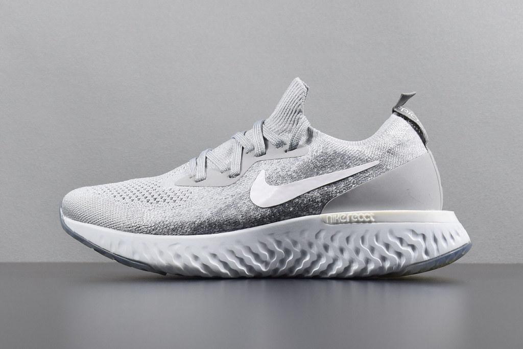 7881ab5d01b0 ... Nike Epic React Flyknit Grey (36-45)