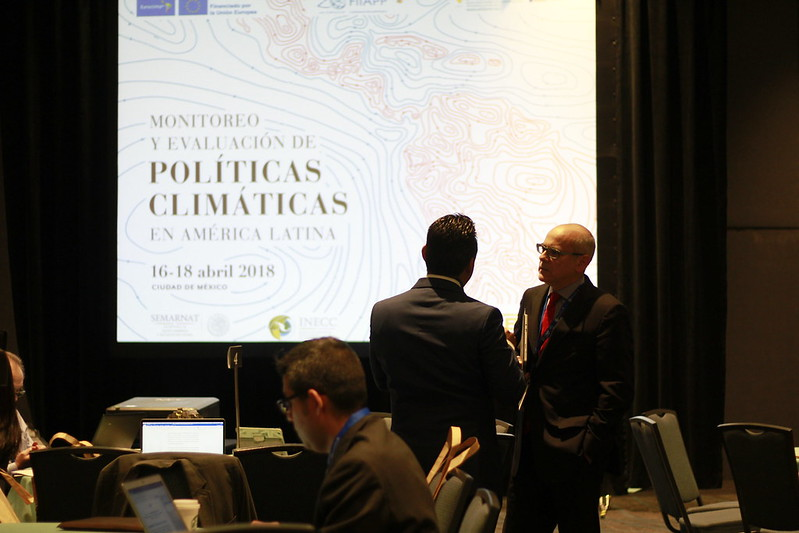 Taller de monitoreo y evaluación de Políticas Climáticas, Abril 2018, CDMX