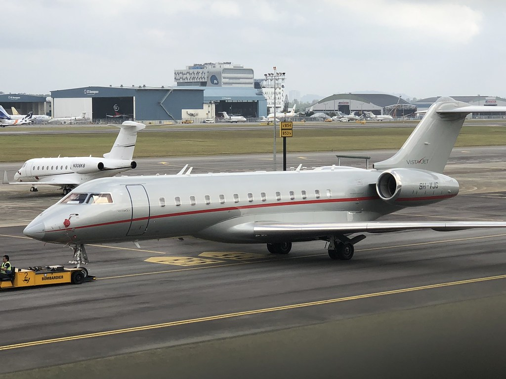 9H-VJG Bombardier Global Express