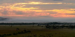 Sunrise in Macarena, Colombia