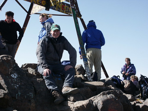 Me at the summit of Jebel Toubkal (4167m). | by markhorrell