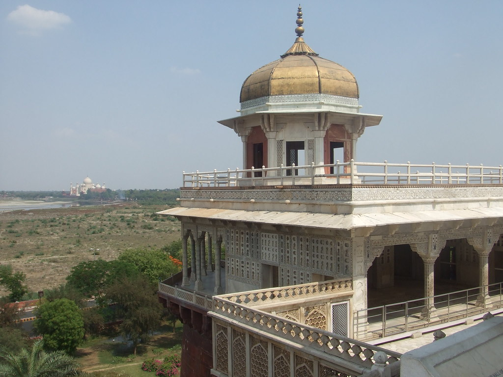 View of Taj Mahal from Shah Jahan's Tower, Red Fort, Agra | Flickr