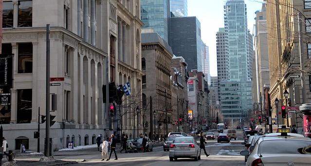 Rue McGill  vue vers le nord