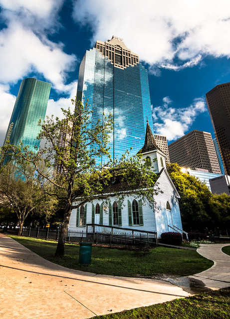 St. John Church - Sam Houston Park, Downtown Houston