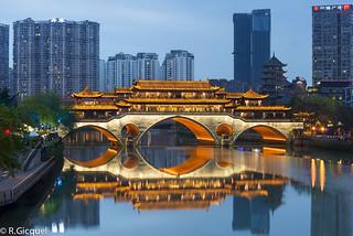 Anshun Bridge (Chengdu) by renan4