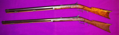 Two Rifles Made By Jake Ramey, Bloomington, Illinois